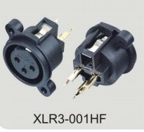 XLR Audio Connector (XLR3-001HF) pictures & photos
