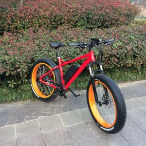 26′ Fat Tire Electric Bike with Li-ion Battery pictures & photos