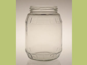 900ml Pickle Glass Jar /Glass Food Storage Jar pictures & photos