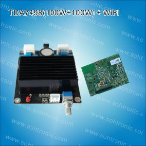 Tda7498 (100W+100W) Amplifier Module pictures & photos