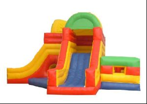Colourful Inflatable Water Slide (KW-0428)