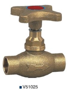 Bronze Stop/Globe Valve (V51025) pictures & photos