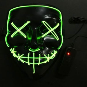 Frightening LED EL Wire Mask pictures & photos