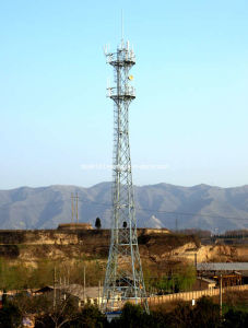 Microwave Telecom Steel Tower