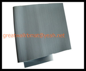 China Factory Directly Sale Ribbed Insulation Rubber Sheet pictures & photos