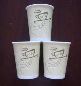 8oz Paper Cup (Hot Cup) Disposable Coffee Paper Cup pictures & photos