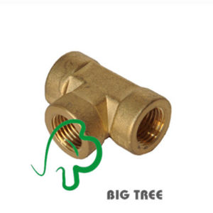 Brass Tee Thread Pipe Connector Female to Male pictures & photos