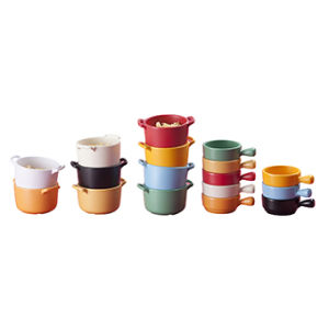 Melamine Sauce Dish with Handle/Melamine Bowl with Lid (QQ15211) pictures & photos
