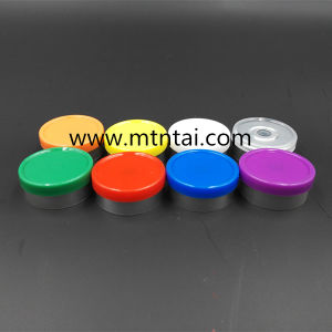 20mm Glass Bottle Cap in Yellow Color pictures & photos