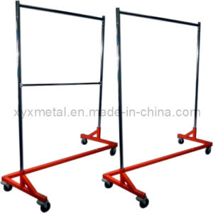 Clothes Heavy Duty Rolling Z Garment Clothing Racks Stand pictures & photos