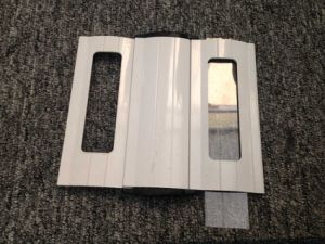Punched Aluminum Roller Shutter Door pictures & photos