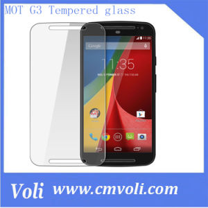 Ultra Clear Tempered Glass Screen Protector for Motorola Moto G3 3rd Generation pictures & photos