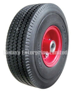 Flat free wheel (PF1033) pictures & photos