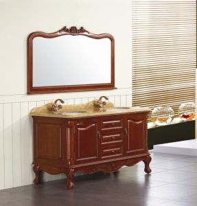 Solid Wood Bathroom Cabinet (MY-7496)