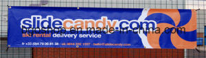 PVC Laminated Flex Banner PVC Film (500dx500d 13OZ) pictures & photos