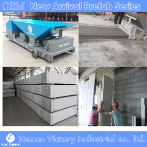 Lightweight Concrete Wall Panel Making Machine Using Ceramsite, Fly Ash, and Other Lightweight Aggregate pictures & photos