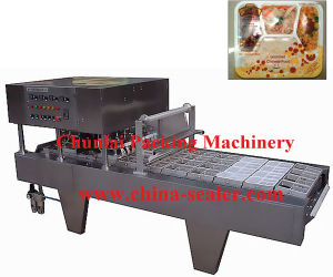 2015 Good Quality Linear Type Tray Sealing Machine pictures & photos