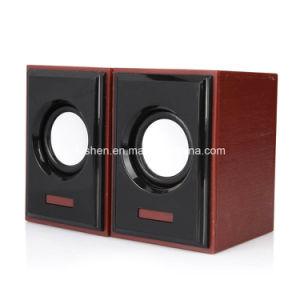 USB Speaker Wood Similar Case pictures & photos
