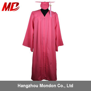 China Adult Pink Graduation Cap Gown Tassel Wholesale for High ...