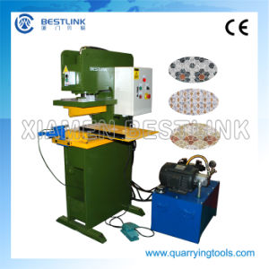 Three Type of Hydraulic Cutting Press Machine for Stone Tiles pictures & photos