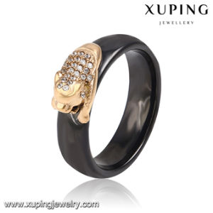 13903 Fashion Xuping 18k Gold-Plated CZ Stainless Steel Jewelry Finger Ring with Dragon-Shaped pictures & photos