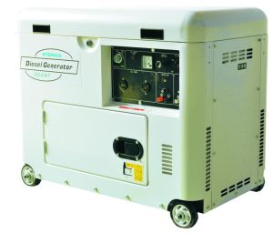 Vehicle Diesel Generator Manufacturer (BJ6000GE) pictures & photos