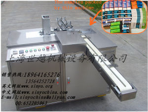 Eraser/Sharpener Paper Sleeving and Wrapping Machine pictures & photos