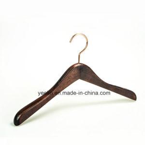 Yeelin Cloth Shop Antislip Wooden Hanger (YL-a003) pictures & photos