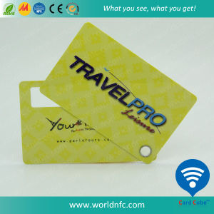 Non-Standard Manufacturer Logo Printing PVC Baggage/Luggage Card pictures & photos