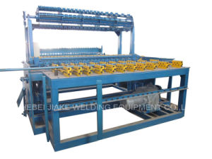 Automatic Galvanized Steel Grassland Fence Weaving Machine pictures & photos