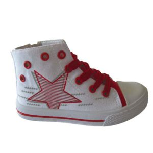 New Design Supplier High-Quality Vulcanized Canvas Sport Kids Canvas Shoes pictures & photos
