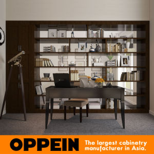 Oppein Australia Villa Project PVC Wooden Book Cabinet (op15-H001) pictures & photos