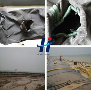 Polyproplen Geotextile Dewatering Geotube for River Bank pictures & photos