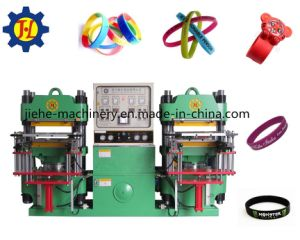 Silicone Rubber Bracelet Making/Molding Machine Made in China pictures & photos