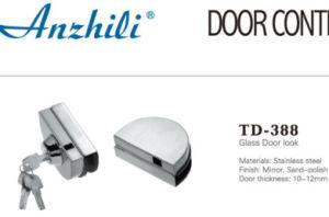 Glass Accessoriesstainless Steel Glass Door Lock (TD-388) pictures & photos