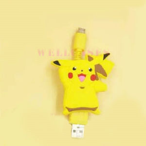 Pokemon Go Pikachu Retractable Micro USB Data Cable for Samsung