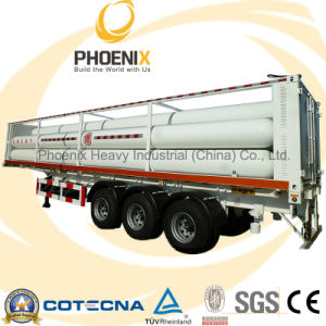 20cbm Triaxle Compressed Matural Gas CNG Tank Semitrailer pictures & photos