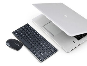 New Mini Aluminum Slim 2.4G Wireless Computer Mouse and Keyboard pictures & photos