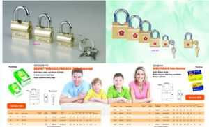 Drum Type Iron Padlock pictures & photos