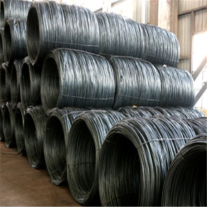 Hot Rolled SAE 1008b Low Carbon Coils Steel Wire Rod Size pictures & photos