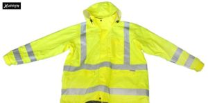 High Visibility Safety Parka Jacket, Meet En (DFJ1019) pictures & photos