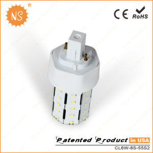 Gx24D AC110-277V 700lm 6W 2 Pin LED Lamp pictures & photos