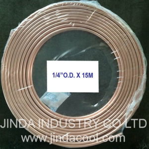 "1/4""O. D. Pancake Coil Copper Tubing pictures & photos"