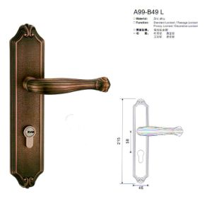 A99-B49 L Stlye Luxury Door Lock Series pictures & photos