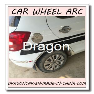 Adhesive Front and Back Car Wheel Eyebrow Prorector pictures & photos