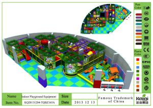 Kaiqi Large Forest Themed Children′s Indoor Soft Play Playground (KQ20131204-TQBZ165A) pictures & photos