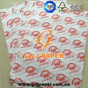 18GSM 24*34cm Printed Greaseproof Wrap Paper with Good Price pictures & photos