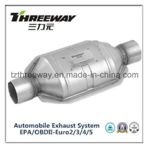 Car Exhaust System Three-Way Catalytic Converter #Twcat020 pictures & photos
