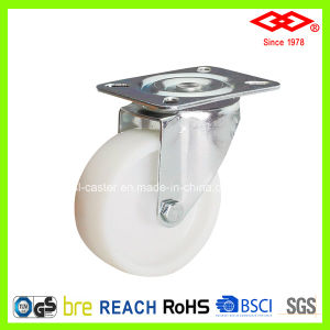White Nylon Industrial Caster (P161-20D100X35) pictures & photos