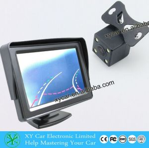CCD Mini LED Night Vision Car Rear View Camera Xy-1668